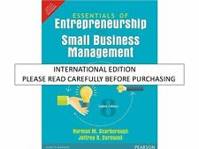 Essentials of Entrepreneurship and Small Business Management by Thomas Zimmer...