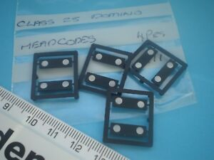 Ambitieux 00 Triang/hornby Spares Class 25 Domino Headcodes.4 Pairs.