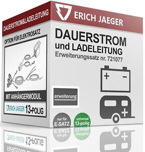 721077-OPTION-DAUERSTROM-und-LADELEITUNG-FUR-E-SATZ-13-POLIG-UNIVERSELL
