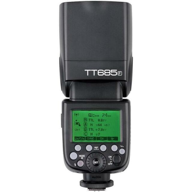 Godox TT685F 2.4GHz TTL HSS Speedlite Flash for Fujifilm Cameras