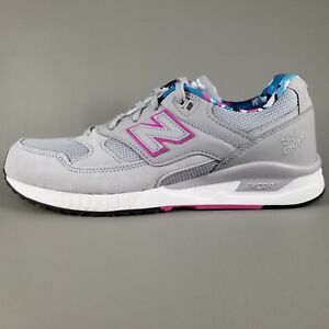 best website 96a31 90308 Details about New Balance 530 ENCAP Suede Running Shoes Mens Size 8.5 Gray  Pink White
