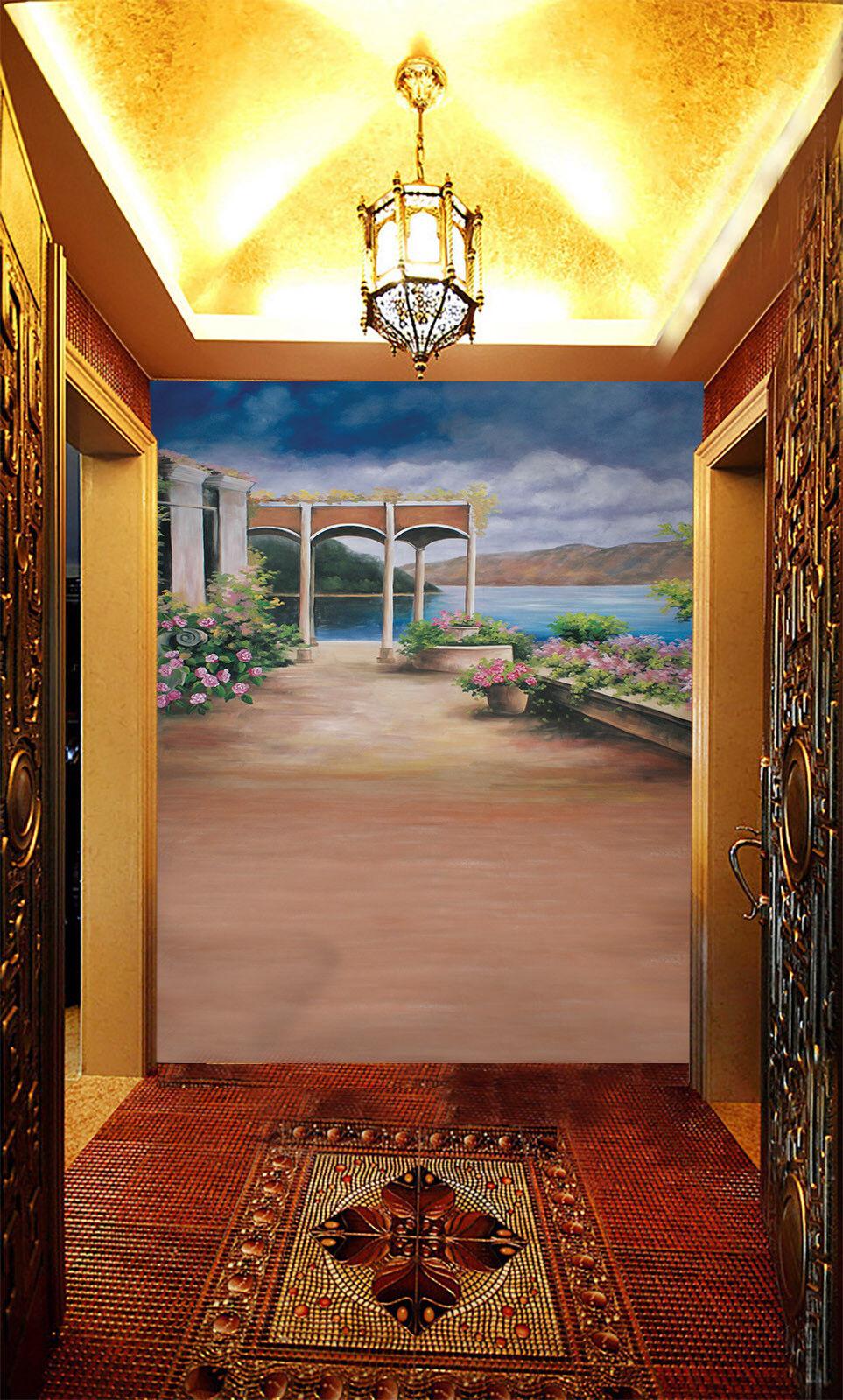 3D Garten Gehweg Malerei 58 58 58 Tapete Tapeten Mauer Foto Familie Tapete Wandgemälde 3028d8
