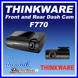 Thinkware F770 1CH 16GB Front Facing Dash Camera with Hard wire Kit