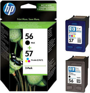 Original-HP-56-57-tinta-cartuchos-psc-1110-1200-1210-1210-V-1215-1219-1310-1312