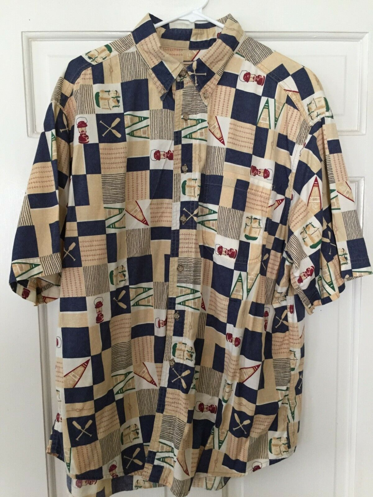 Vintage 1950/'s Novelty Camp Honeyrock Terrycloth Sweater S-M