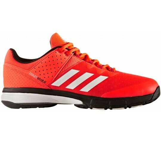 [Adidas] BY2839 Court Stabil Hombre Mujer Running Zapatos Tenis Rojo