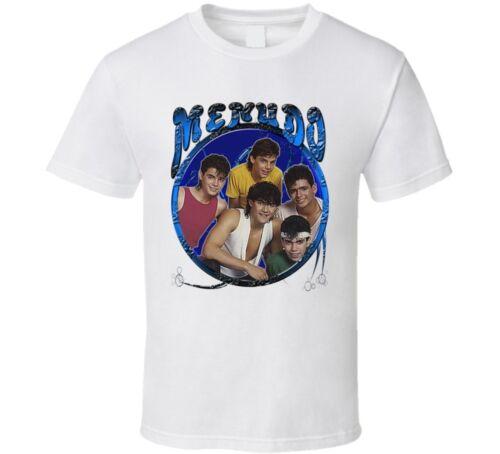 Menudo retro Ricky Martin Latin T Shirt