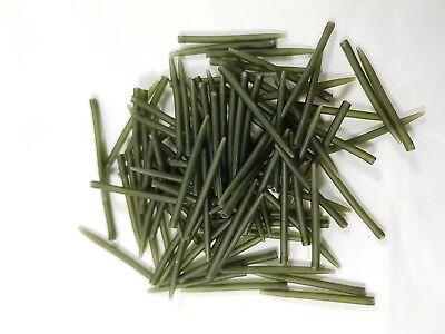 50 Stück hook sleeves Line Aligner grün Vorfach Schutz Montage Karpfen Rig