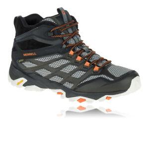 Merrell Moab FST Mid Gore Tex Walking Shoes White MER665