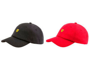 Details about Puma Scuderia Ferrari Fanwear Youth Unisex Embroidered  Baseball Hat Cap 021516 4d78bc34c46