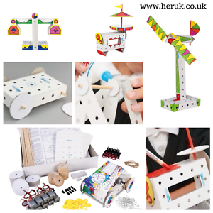 STEM Electric Circuit kids Car, Boat children build  Montessori KS1 KS2 KS3