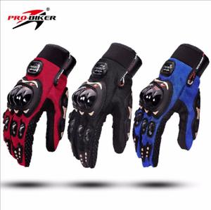 GUANTI-MOTO-gloves-MOTOCICLISMO-PER-MOTO-DA-STRADA-CROSS-ENDURO-UNISEX-PRO-BIKER