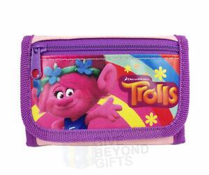 Dreamworks Trolls Princess Poppy Tri-Fold Kids Mini Wallet Back to School Supply