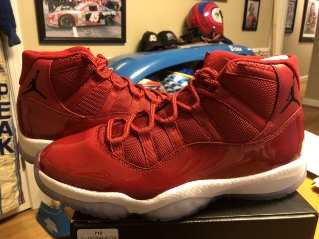 "promo code 2a925 85dc1 Nike Air Jordan 11 XI Retro Gym Red ""Win Like 96"" (Model 378037"