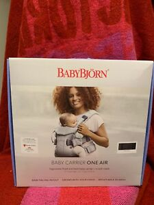 be789e91aba Image is loading BABYBJORN-New-Baby-Carrier-One-Air-2019-Edition-