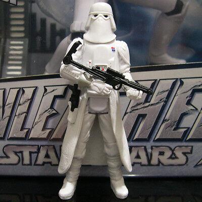 "Star Wars The Black Series 3.75/"" #24 Snowtrooper Commander Loose complet"