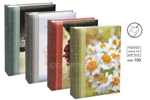 Sea Of Flowers Einsteckalbum für 100 Fotos in 10x15 cm Einsteck Foto Album