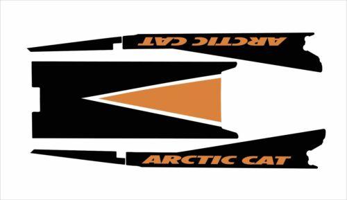 ARCTIC CAT TUNNEL  M 5 6 8 800 1000 SNO PRO 128 141 153 162 M6 M8 top orange