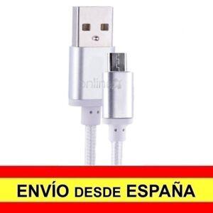 Cable Datos Cargador USB - MICRO USB Nylón Anti Enredo Teléfono Tablet 3 M a1111