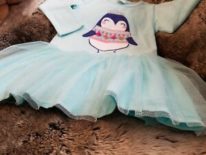 7272bdb4a4 Gymboree Girls Mint Green Long Sleeve DRESS with TULLE SKIRT & BLOOMERS  SIZE 3T
