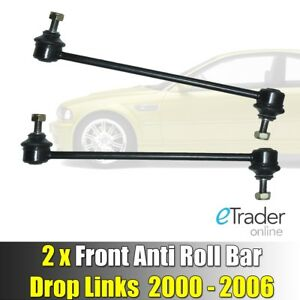 BMW-3-SERIES-E46-FRONT-DROP-LINKS-STABILISER-ANTI-ROLL-BAR-LINK-x2-2000-2006-NEW