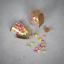 thumbnail 6 - Set of 12 Mini Glass Bottles Perfect for Wedding Favours & Decoration M&W
