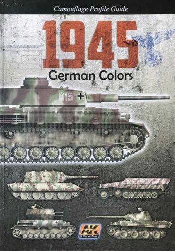 1945 German Colors Book-AK 403