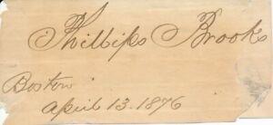 Phillips-Brooks-Signature-of-the-Clergyman-amp-Christmas-Carol-Lyricist