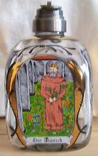 """Dekorative Flasche aus einer Apotheke Glas mit Bild """"Der Münich"""""""