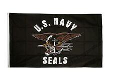 Fahne Flagge USA Navy Seals - 90 x 150 cm Hissflagge