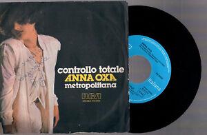 ANNA-OXA-CONTROLLO-TOTALE-METROPOLITANA-1980-RCA-ITALY-7-034-45-GIRI