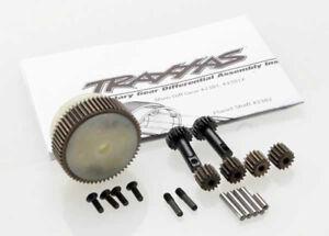 Traxxas-1-10-Slash-2WD-train-planetaire-differentiel-amp-Steel-Ring-Gear-2388X