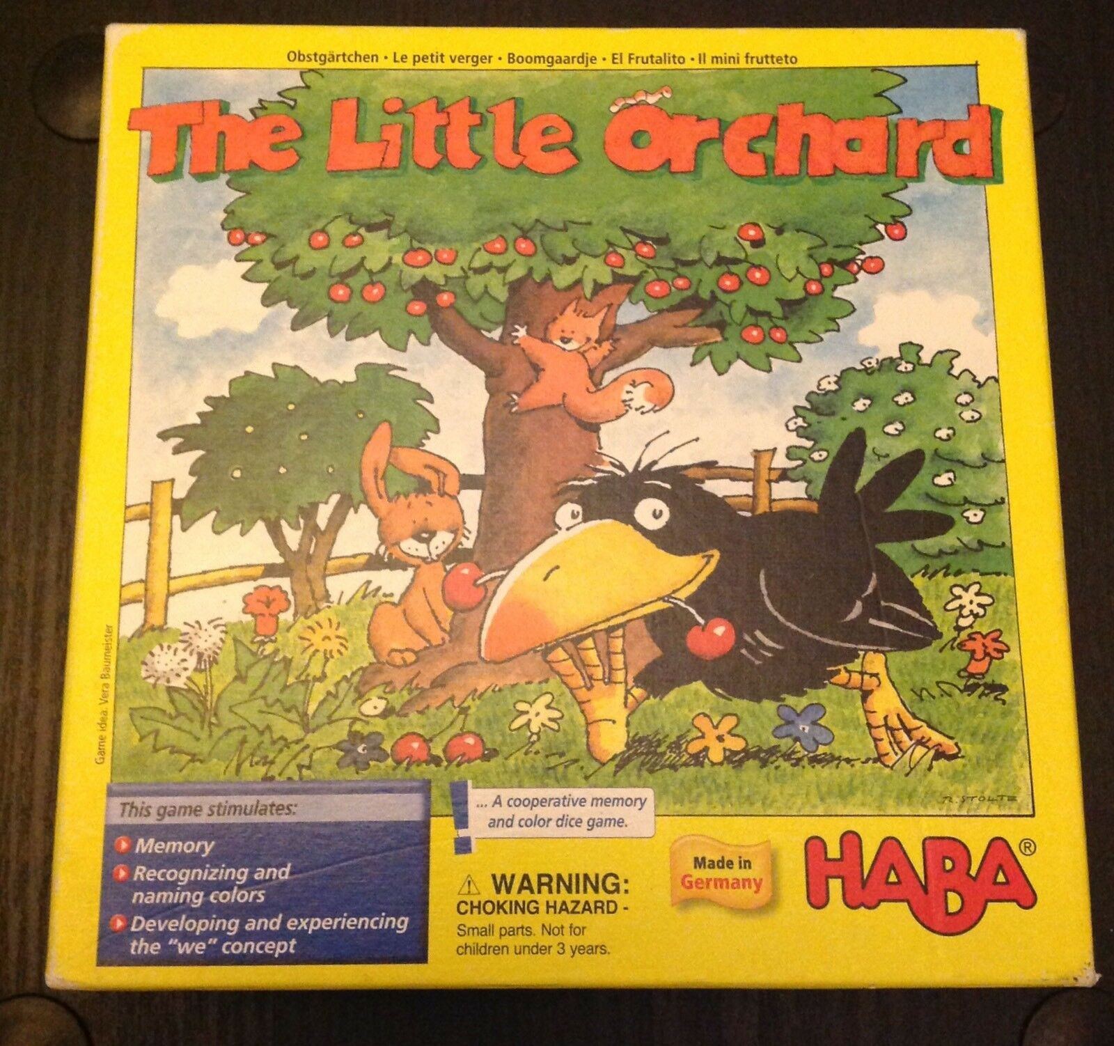 Haba The Little Orchard game 2004 1
