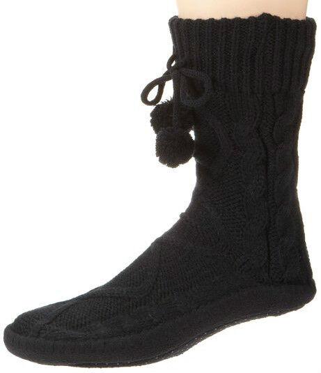 Esprit 18851 - Cosy Socks - Hausschuhe / Homepad - Gr.: 37-38 - Grau 3111 - NEU