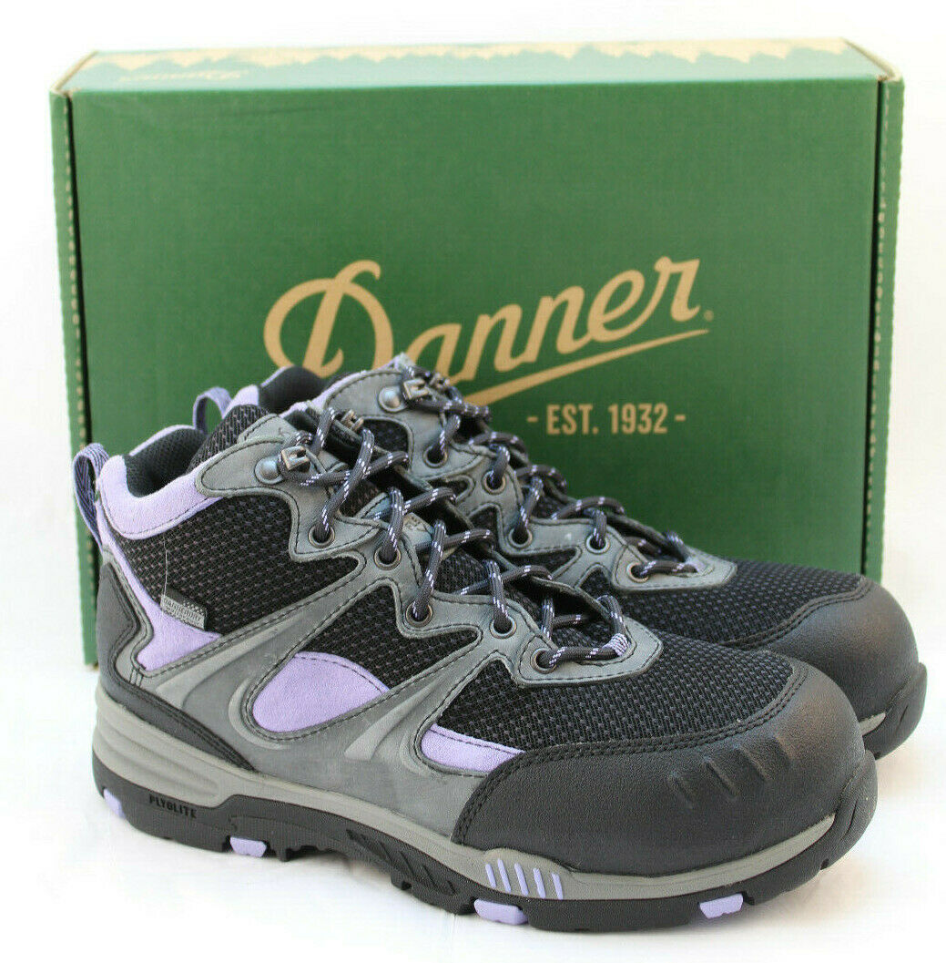 New in Box Danner Springfield Femmes 6.5 M Safety Toe Botte Imperméable 12250 Retail  140