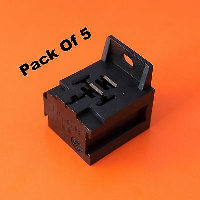 5 x Premium Quality BOSCH Relay Base Holder and Mount for 4/5 Pin Relays