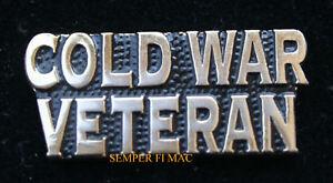 COLD-WAR-VETERAN-SCRIPT-LAPEL-HAT-PIN-UP-US-ARMY-MARINES-NAVY-AIR-FORCE-SOVIET