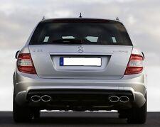 Mercedes W204 S204 AMG C63 Rear Bumper Diffuser C200 C220 C250 C300 C350 Estate
