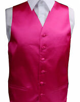 "Mens Wedding Waistcoat Groom Size 36"" - 46"" Chest Available S M L XL XXL XXL"