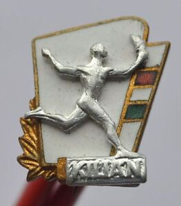 1960s-Hungary-Old-Sports-Club-KILIAN-Small-Heavy-Brass-Pin-Badge