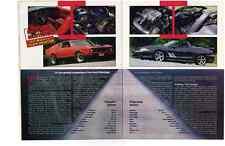 1971 MUSTANG MACH 1 VS 1995 MUSTANG SALEEN SPEEDSTER ~  GREAT 4-PG ARTICLE / AD