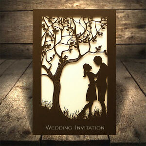 Personalised Couple Wedding Invitations Lace Laser Cut Free PP FREE ENVELOPES - <span itemprop=availableAtOrFrom>Chester, United Kingdom</span> - Most Buy it now purchases are protected by the Distance Selling Regulations, which give the buyer the right to cancel the purchase within 7 working days after the day that they receive th - Chester, United Kingdom