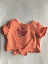 """American Girl 18"""" Doll Tenney Grant Meet Outfit Graphic Tee Shirt ONLY"""