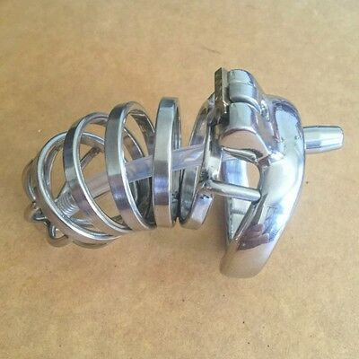 Bondage Male Chastity Belt Chastity Device New Design  CBT Urethral Tube zc080