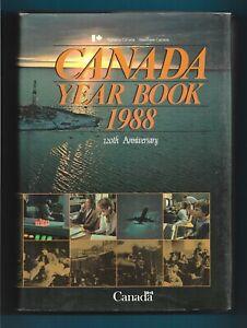 Statistics-Canada-Year-Book-1988-120th-Anniversary-edition-hardcover