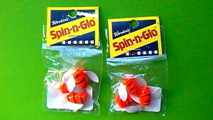 SPIN-N-GLO-SIZE-6-034-FLAME-TIGER-STRIPE-034-3-COUNT-PACKAGE-SET-OF-2-6-PIECES