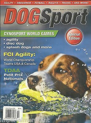 Dog Sport magazine Agility Discs Agility Obedience Tricks Flyball Petit National