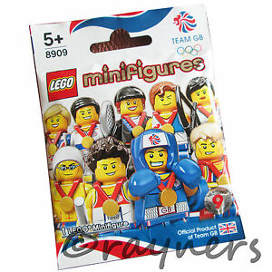 Factory-Sealed-Choose-Your-8909-LEGO-Team-GB-Olympic-Minifigure-London-2012