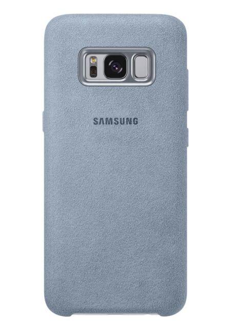Samsung Galaxy S8 Alcantara Funda - Menta