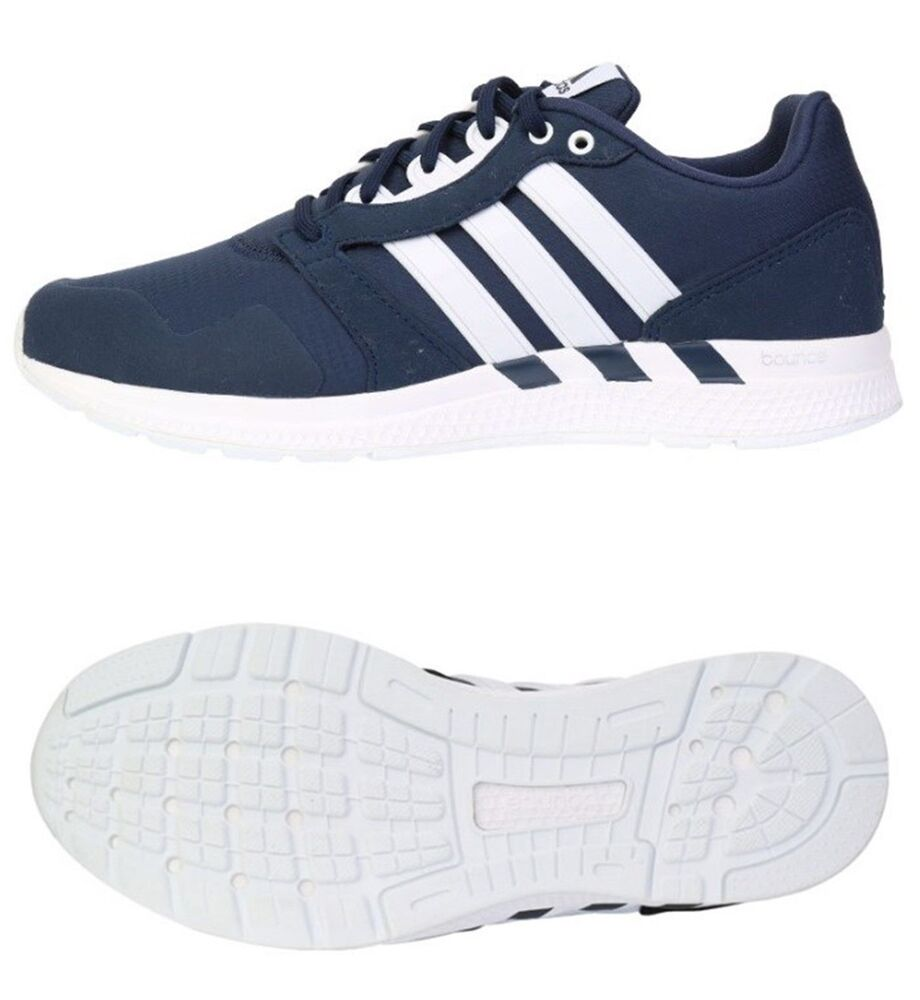 Adidas homme chaussures Equipment 16 M Bounce fonctionnement Sneakers Navy chaussures GYM B54291